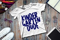 Kinder Garten Dude SVG Files For Cricut Silhouette DXF, PNG Product Image 2