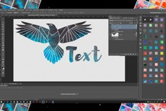 Watercolor Photoshop Layer Styles Effects. Text style Product Image 5