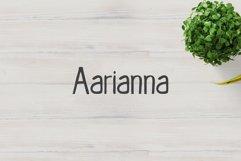 Aarianna Handmade Brush Font Family Product Image 1