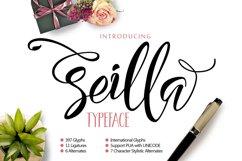 Seilla Script Product Image 1