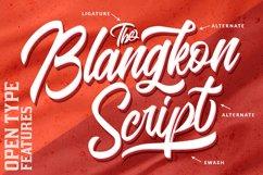 Casual Logo Font - The Blangkon Script Product Image 3