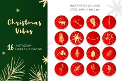 Christmas Vibes Instagram Highlights Product Image 1