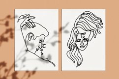 40 couple vector line illustrations. Couple EPS.AI.PNG. SVG Product Image 3