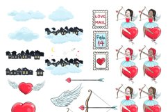 Love is in the air - Clipart Product Image 4