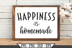 Happiness Is Homemade SVG Product Image 2