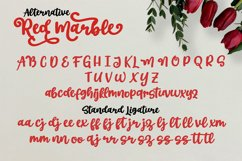 Red Marble || Beautiful Handwriting Product Image 3
