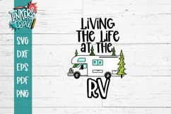 Living Life at the RV SVG Product Image 2