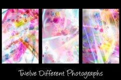 12 Bubble Rainbow Unicorn Photography Backgrounds Product Image 4