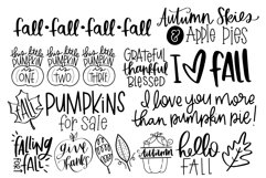 Fall Phrases Symbols Font Product Image 3
