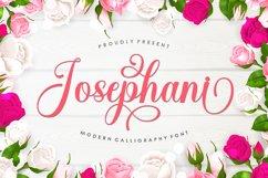 Josephani Script Product Image 1