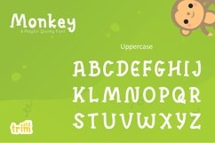 Monkey - Quirky Playful Font Product Image 6