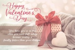 Romantic February - Lovely Romantic Font Product Image 5