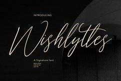 Wishlyttes Signature Font Product Image 1