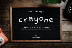 Crayone -The Chalky Sans- Product Image 1