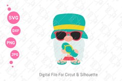 Gnomes Summer svg | Beach Gnomes |svg png dxf Product Image 2