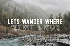 Wonderful Wilderness Font Duo Product Image 3