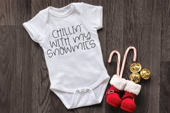 Hello Winter - A Quirky Hand-Lettered Font Product Image 3