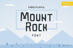 Mountrock - Summer Camp Font Product Image 1