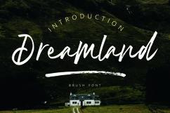 Dreamland | Brush Font Product Image 1