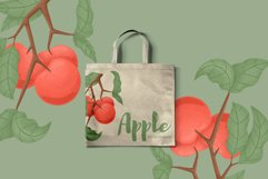 Apple hand drawn clip art Product Image 5