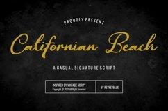 Californian Beach - Signature Font Product Image 1