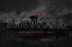 Web Font SALVIDRA Font Product Image 1