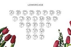 monogram vine letter for crafter Product Image 2