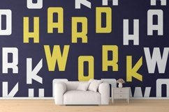HardWork - Display Font With Styles / Font Logo Product Image 6