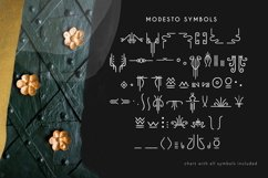 Modesto - Handwritten Art Deco Font Product Image 5