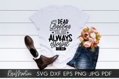 Dear Grandma You Are Always Essential To Me SVG Mothers Day Product Image 6