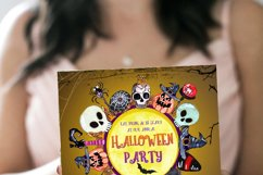 Halloween invitation, Party Halloween, 31 October, download Product Image 2