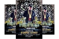 Hip Hop Tour Flyer Template Product Image 1
