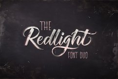 The Redlight Font Duo Product Image 1