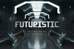 Futuristic Font Product Image 1