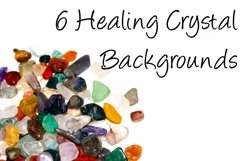Healing Crystal Backgrounds By Squeeb Creative