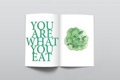Watercolor vegetables & mushrooms Product Image 4