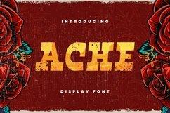 Web Font Ache Font Product Image 1