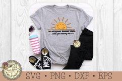I'm Actually Really Nice-SVG-Sarcastic-Sunshine-Funny Humor Product Image 2