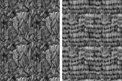 Set of 8 ink strokes effect patterns Product Image 4