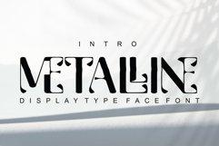 Metalline - Typeface Product Image 1