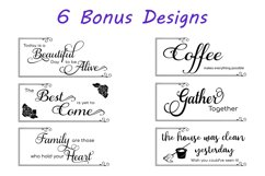 The Happiness Sign Bundle Svg Cut Files Product Image 6