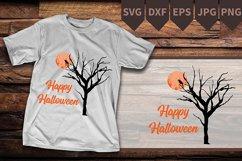 Nightmare Before Christmas SVG, Tree moon svg Digital file Product Image 2