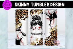 Tumbler Bundle, Messy Bun Designs with Sports Themes Product Image 2