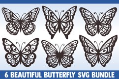 Butterfly SVG Bundle, butterflies svg, swirl svg, mandala Product Image 1