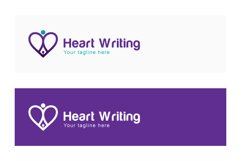 Heart Writing - Iconic Stock Logo Template Product Image 2