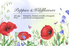 Poppies and Wildflowers Product Image 1