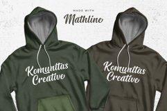 Mathline Bold Script Font Product Image 4