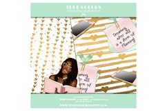 Afroamerican Planner Girl Afroamerican Digital Paper Pack Product Image 2