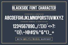 Blackside a Vintage Typeface Product Image 5