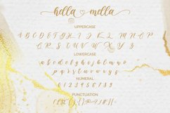 Hella mella - a Lovely Script Font Product Image 5